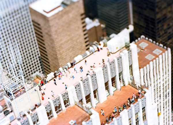 Tilt Shift NYC