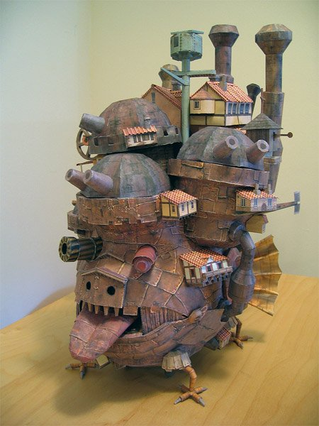 Howl's (Paper) Moving Castle