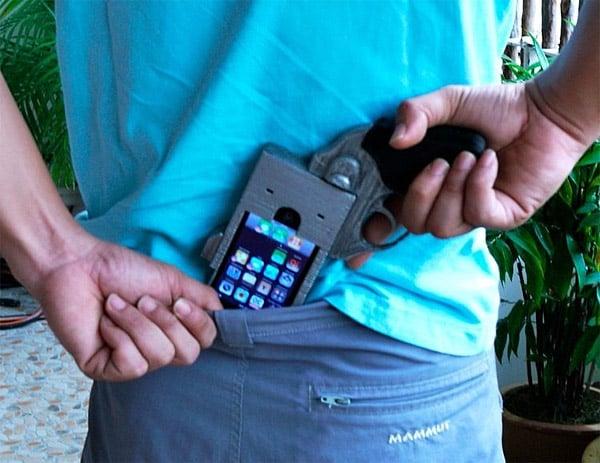 iPhone Revolver Case