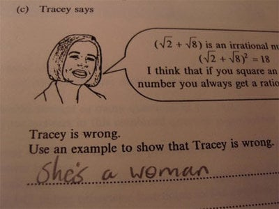 Creative Test Answers
