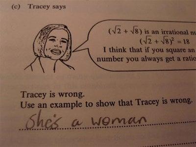 Creative Test Answers