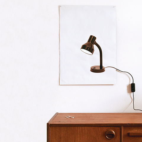 Flat Light Poster Lamp