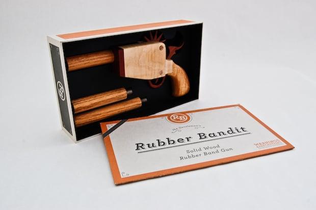 Rubber Bandit Concept Toy