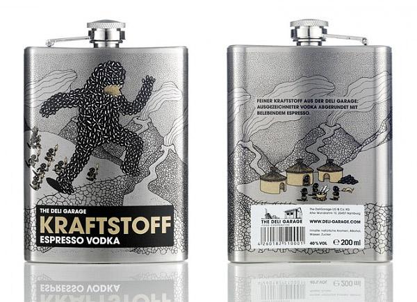 Deli Garage Powerfuel Vodkas