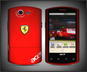Acer Liquid E Ferrari Phone
