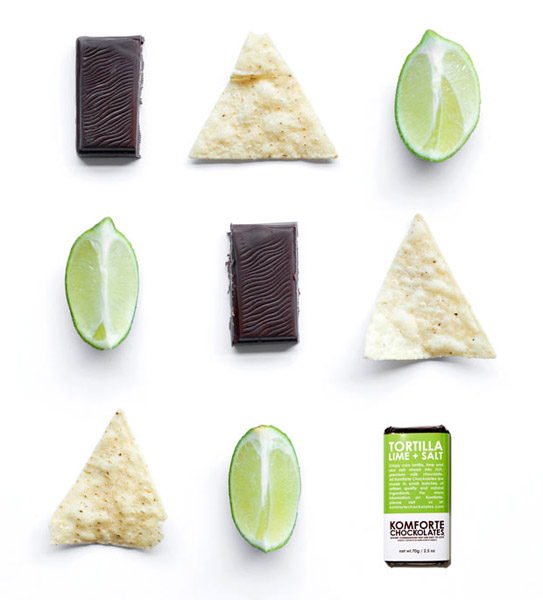 Tortilla Lime + Salt Chocolate Bar