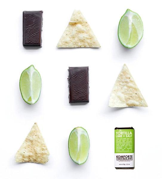 Tortilla Lime + Salt Chocolate Bar