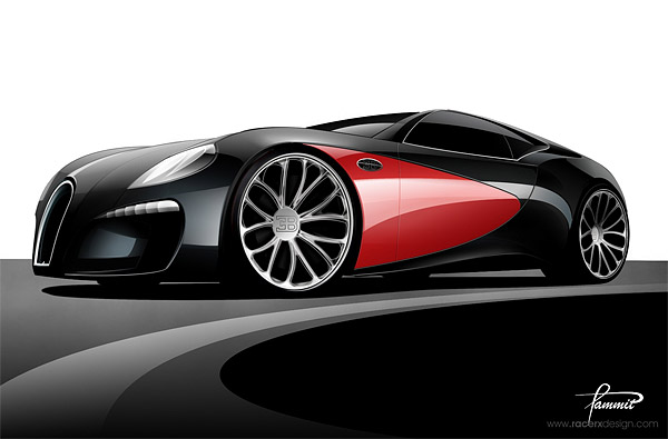 Bugatti Type 12-2 Concept