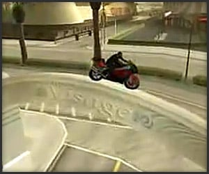 Grand Theft Auto Bike Stunts
