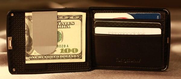 Carbon Fiber Biometric Wallet