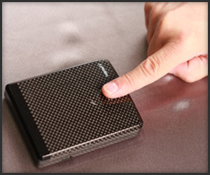Carbon Fiber Biometric Wallet