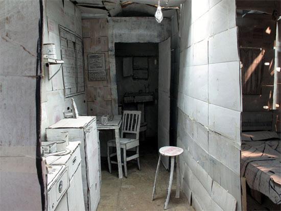 Casa de Karton Installation