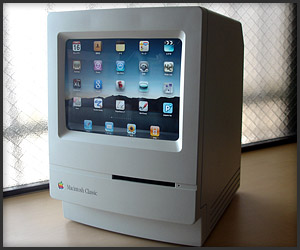 Mac Classic iPad Dock