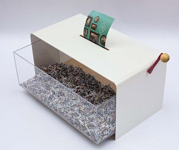 Papervore Shredder Coffee Table