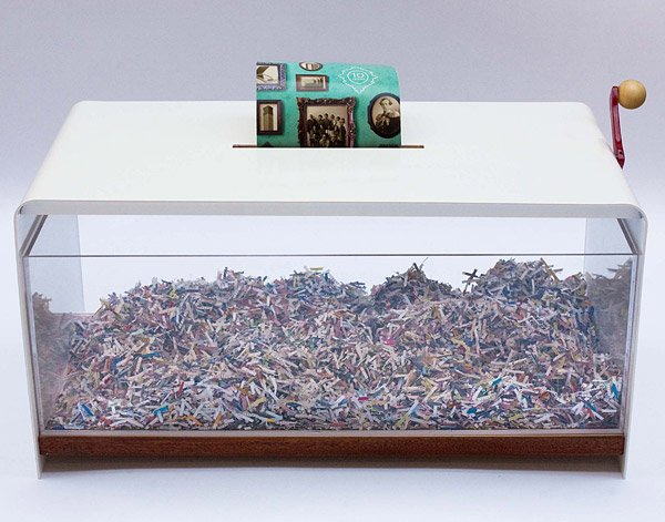 Papervore Shredder Coffee Table