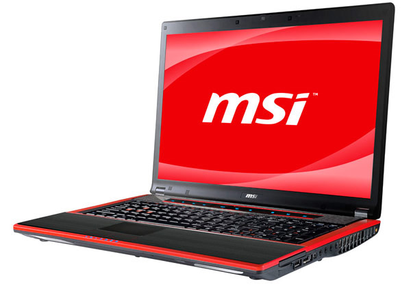 MSI GX740 Core i7 Laptop