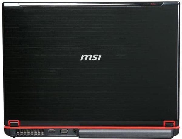 MSI GX740 Core i7 Laptop