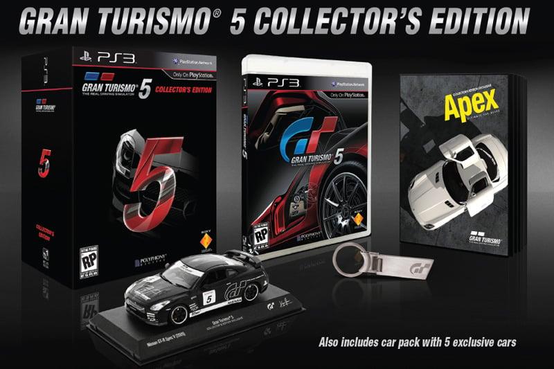Gran Turismo 5 Collector's Ed
