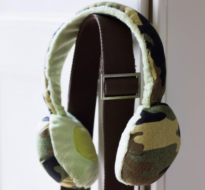 Urban Camo Headphones