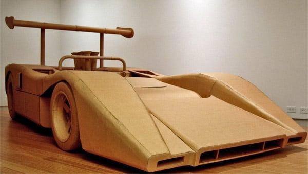 The Cardboard McLaren