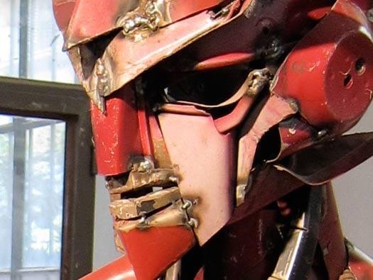 Jalopy Robot Sculpture
