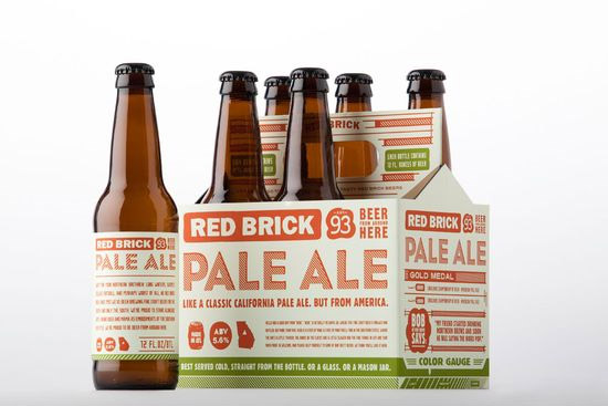 Packaging: Red Brick Beer
