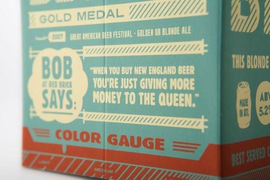 Packaging: Red Brick Beer
