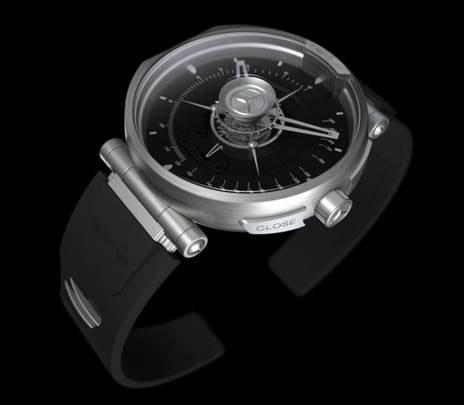 Silver Arrow Concept Watch