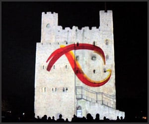 3D Castle Projection Mapping