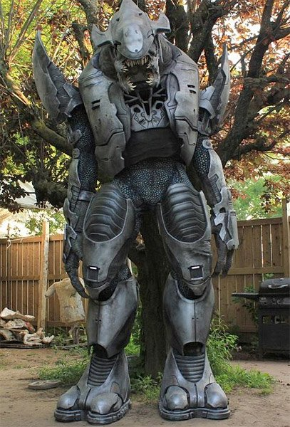 Halo Elite Costume