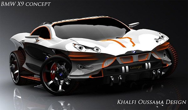 Bmw X9 Concept The Awesomer