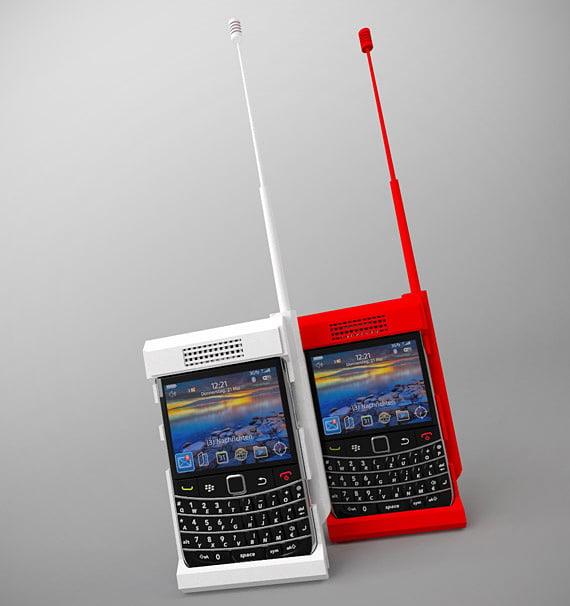Concept: B100 Blackberry Case