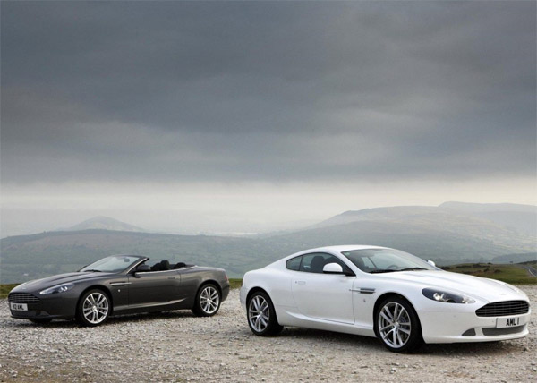 Aston Martin DB9 Update