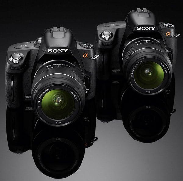 Sony Alpha α290/α390 DSLRs