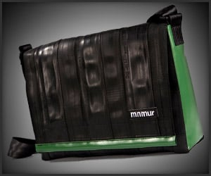 Bike Tube Messenger Bag