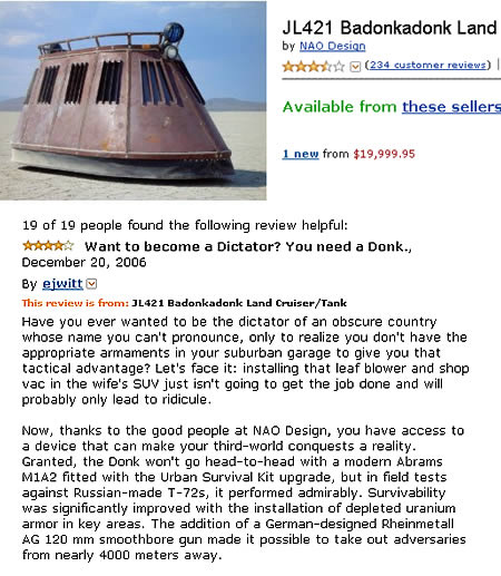 Reviews: Funny Amazon Reviews