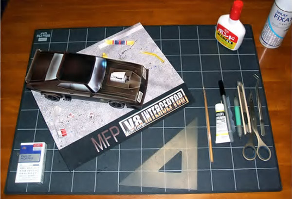 Mad Max Papercraft