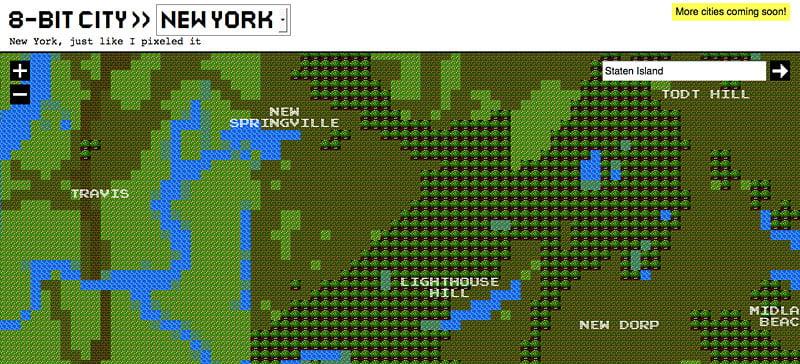8-Bit Cities