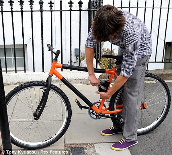 Bendable Bicycle