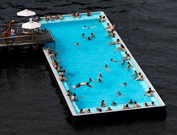 Pool in the River