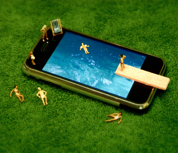 iPhone Dioramas