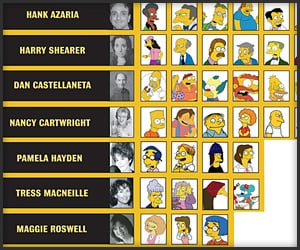 The Voices Of The Simpsons