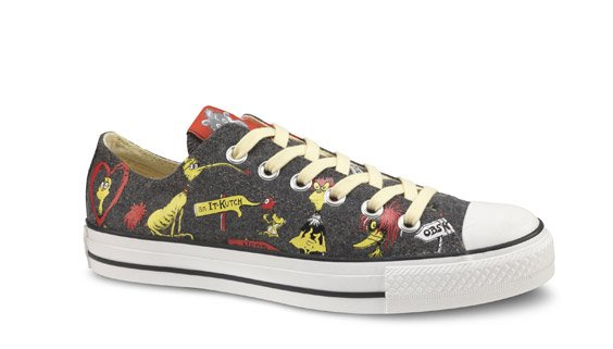 Dr. Seuss Converse Collection