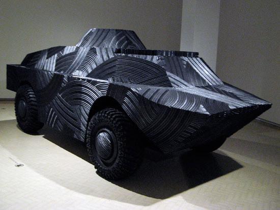 Rubber WMD Sculpture