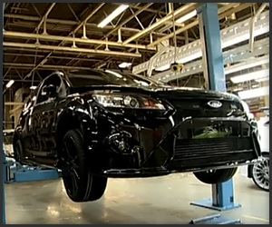 Ford Focus RS 500 Production