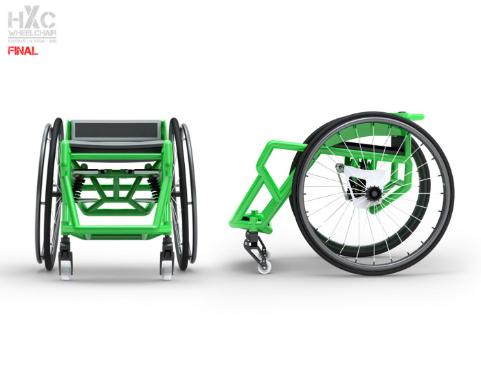 HXC BMX Wheelchair