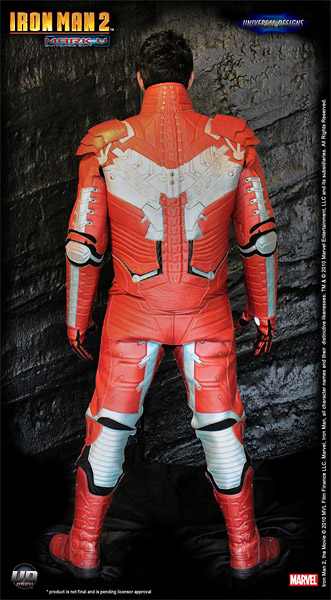 Iron Man Mark V Moto Suit