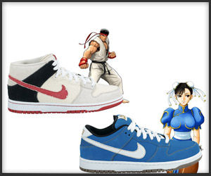 Nike SB Dunk Street Fighter Pack