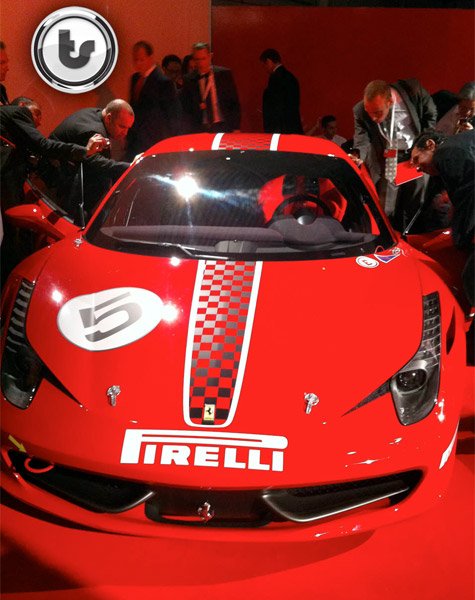Ferrari 458 Italia Challenge