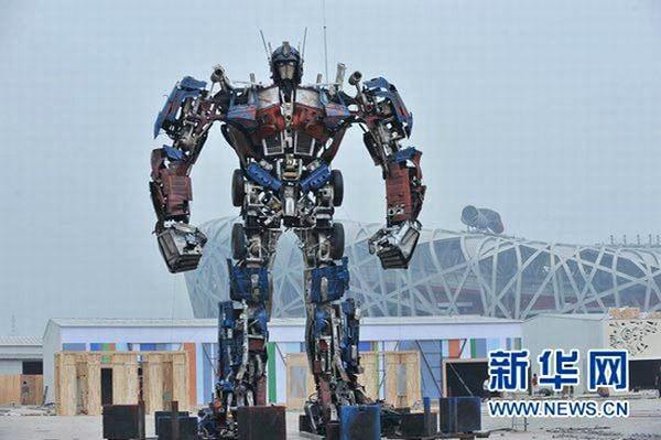 Life-Size Optimus Prime